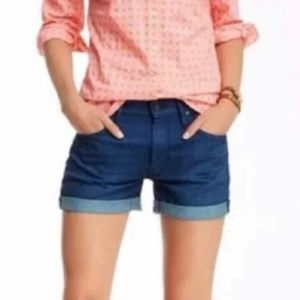 Mother The Dropout Cuffed Shorts 28